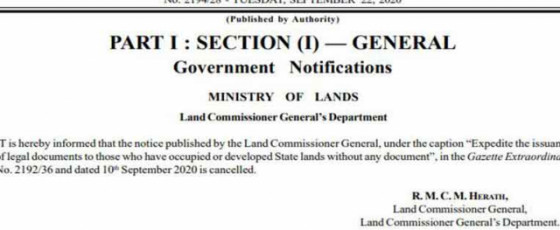 Govt reverses stance on issuing permanent land deeds