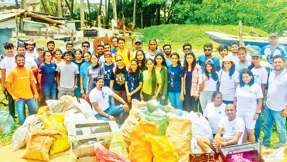 World Clean-up Day marked in Sri Lanka