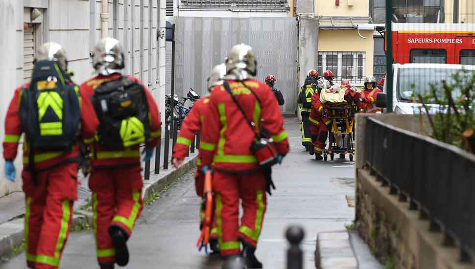 Breaking News: Four wounded in knife attack near former Charlie Hebdo offices