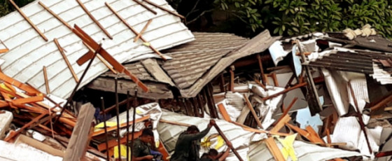 Kandy building collapse: missing persons' bodies found