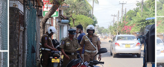Traffic cops hit Ampara streets after COVID hiatus