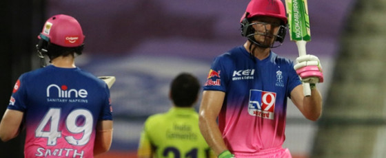 Buttler, spinners help RR climb up the table