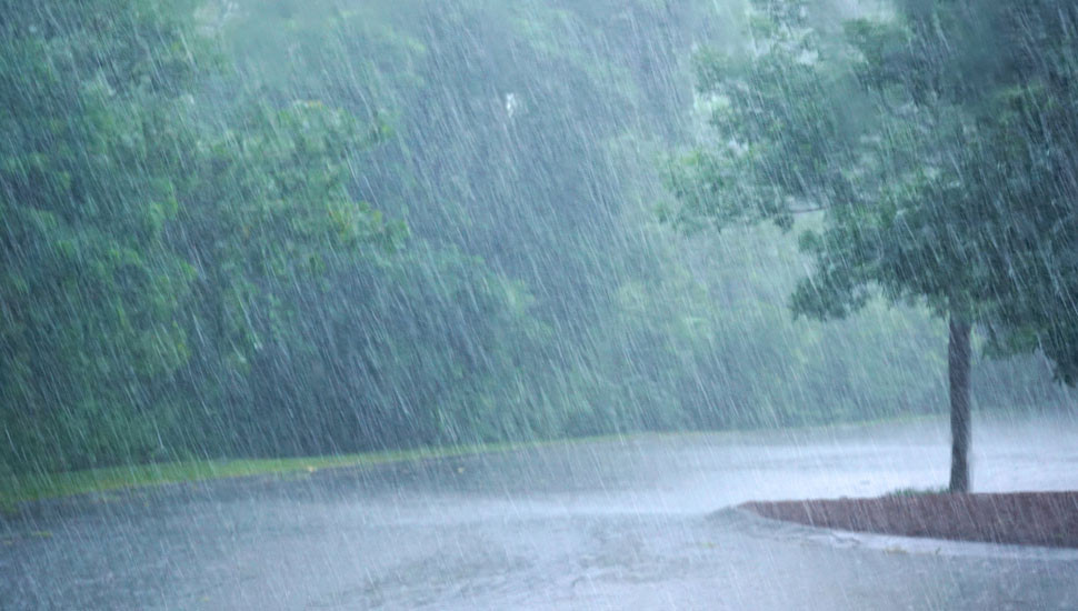 Weather: Showers, thundershowers expected in several areas today