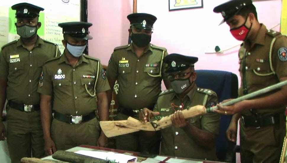 Arrested with locally made guns