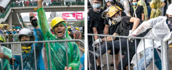 Why Young Activists Are Embracing Hong Kong's Tactics