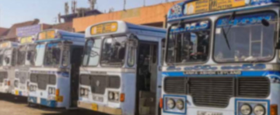 Bus services to and from Pettah and Fort suspended until further notice