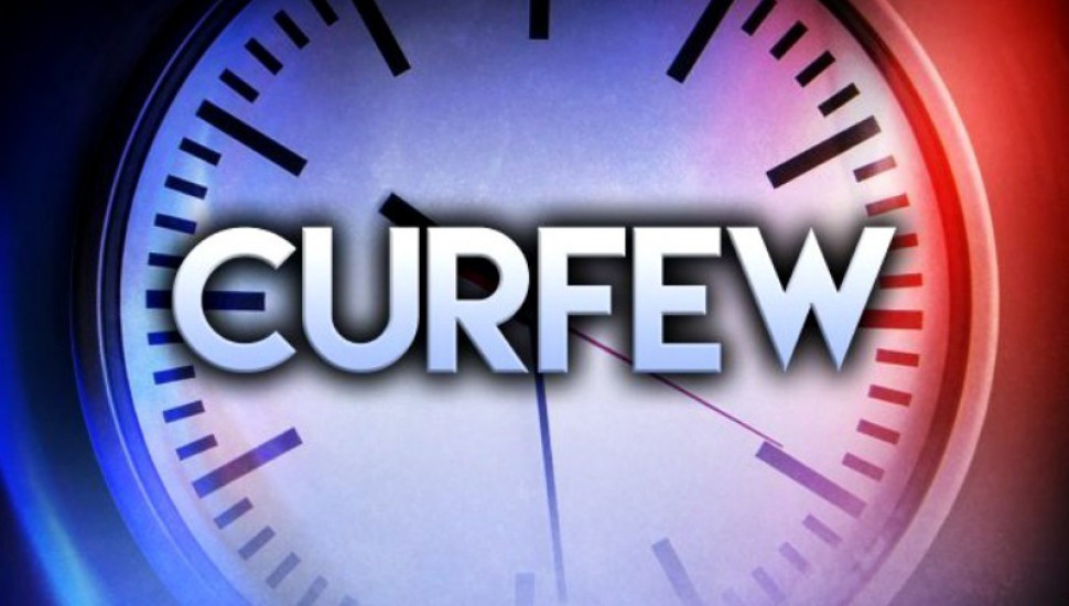 Police curfew imposed in 5 more areas