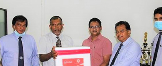 Coca-Cola donates 16,800 PCR Test Kits and 17,000 VTM