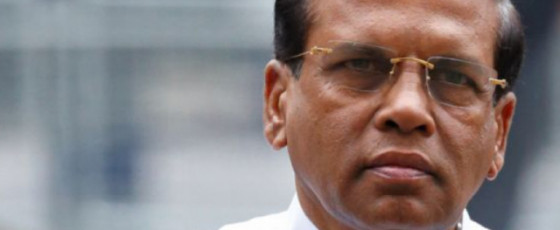 ACCS not funded by President's  Office – Sirisena