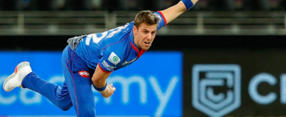Nortje bowls fastest  ball in IPL history