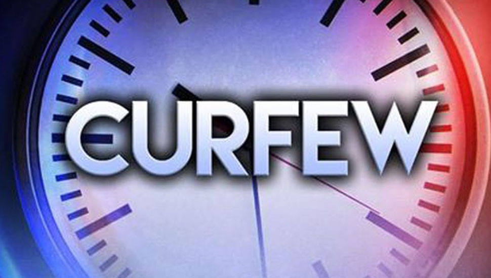 Curfew in  Western Province from midnight