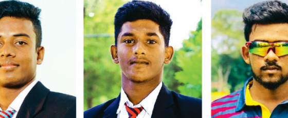 Three youngsters from Jaffna for LPL