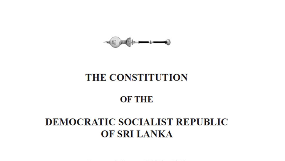 Govt seeking public opinion for new Constitution