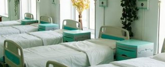 90% of hospital beds occupied