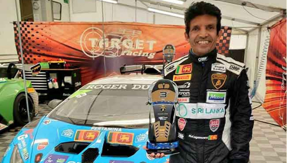 Lamborghini Super Trofeo 2020: Dilantha makes podium finish