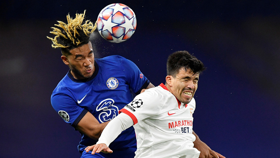 Chelsea frustrated in 0-0 draw with Sevilla