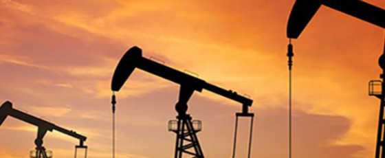 Oil falls more than one pc