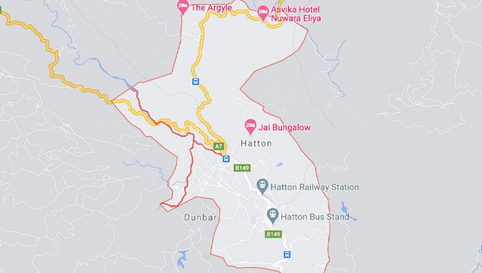 Hatton town isolated