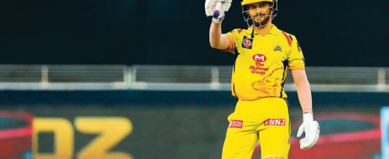 Gaikwad fifty  powers CSK to  morale-boosting win