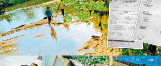Rampant  Sand Mining in  East Causing  Distress to People