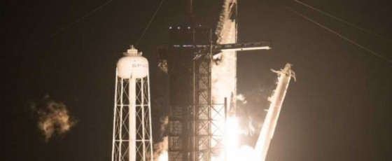 SpaceX launches astronauts into space