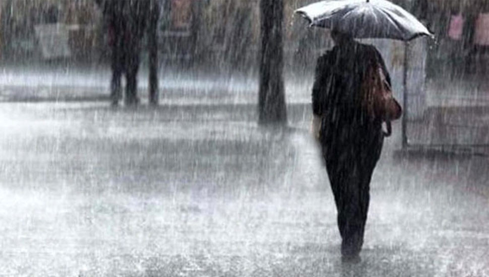 Showers, thundershowers in most areas