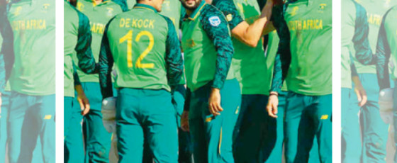 Three South Africa players isolated