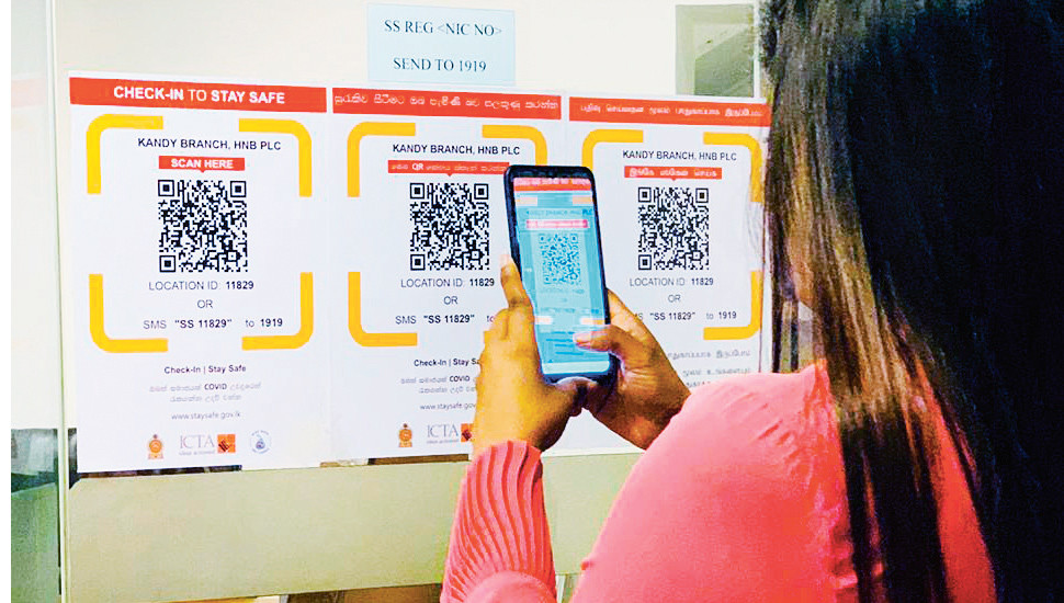 HNB launches 'Stay Safe COVID Tracer' QR codes across all branches