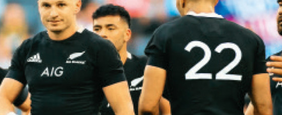 All Blacks slip to third in rugby rankings