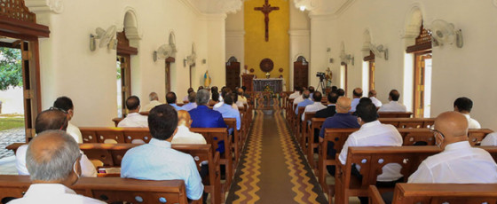 Benedict Catholic Institute: Mass held to mark President's first anniversary