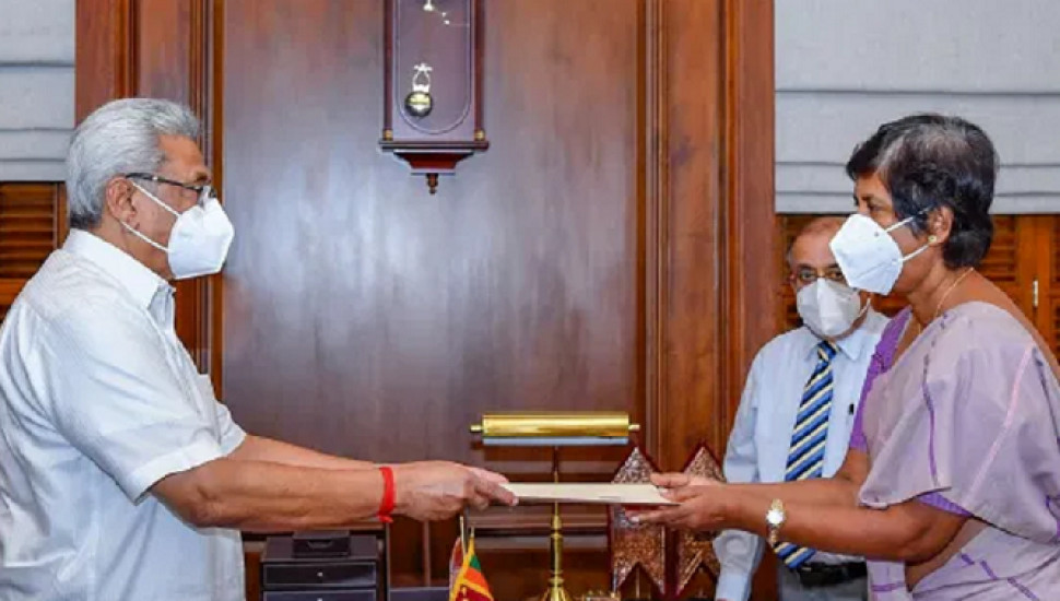 Sudarshani Fernandopulle appointed State Minister of Primary Health Services, COVID Prevention