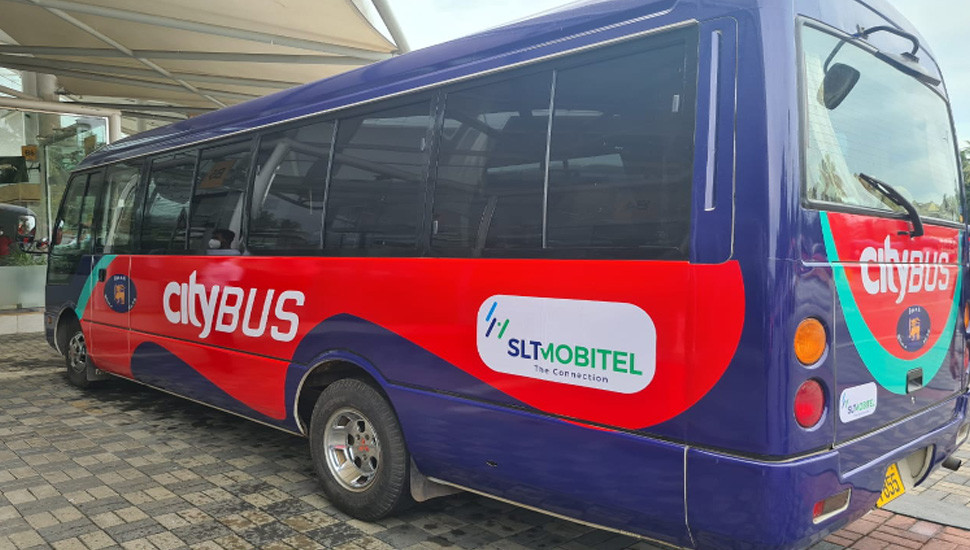 SLT-MOBITEL powers 'Park and Ride' city bus service