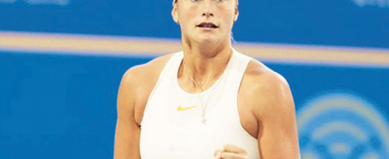 Sabalenka clinches third straight title