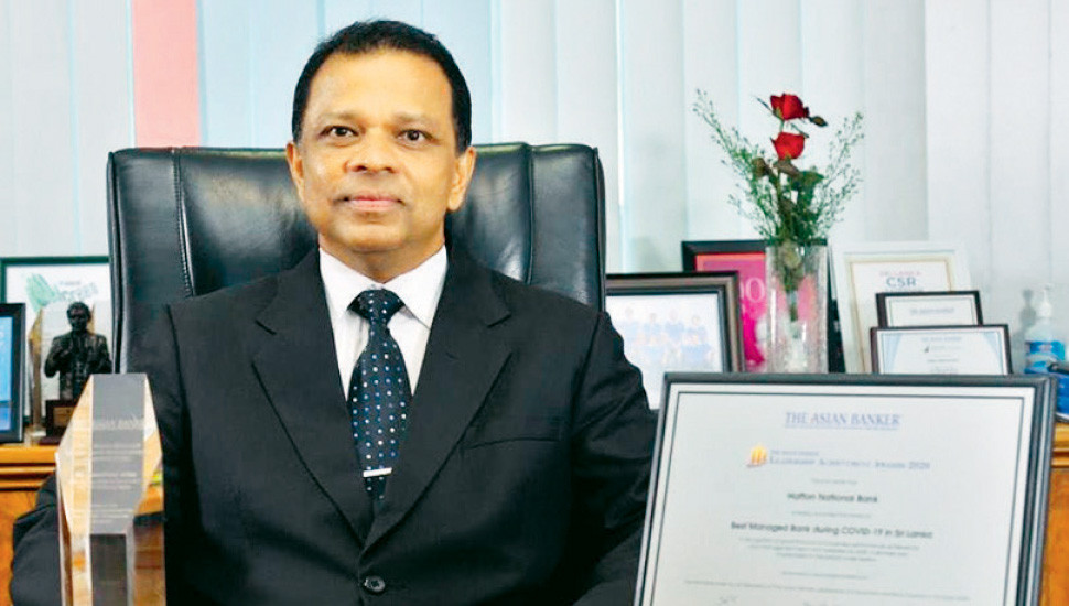 Best Managed Bank during COVID-19 in Sri Lanka: HNB recognised by 'Asian Banker'