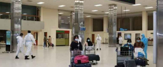 Passengers that arrived at BIA today directed to quarantine