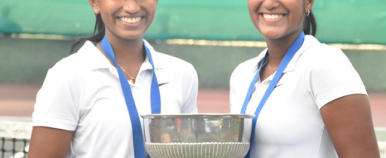 Tennis Nationals 2020: Thehan, Chathurya  into history books as youngest  doubles champs