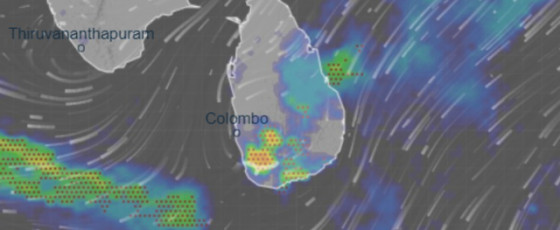 Galle and Matara to experience heavy rains
