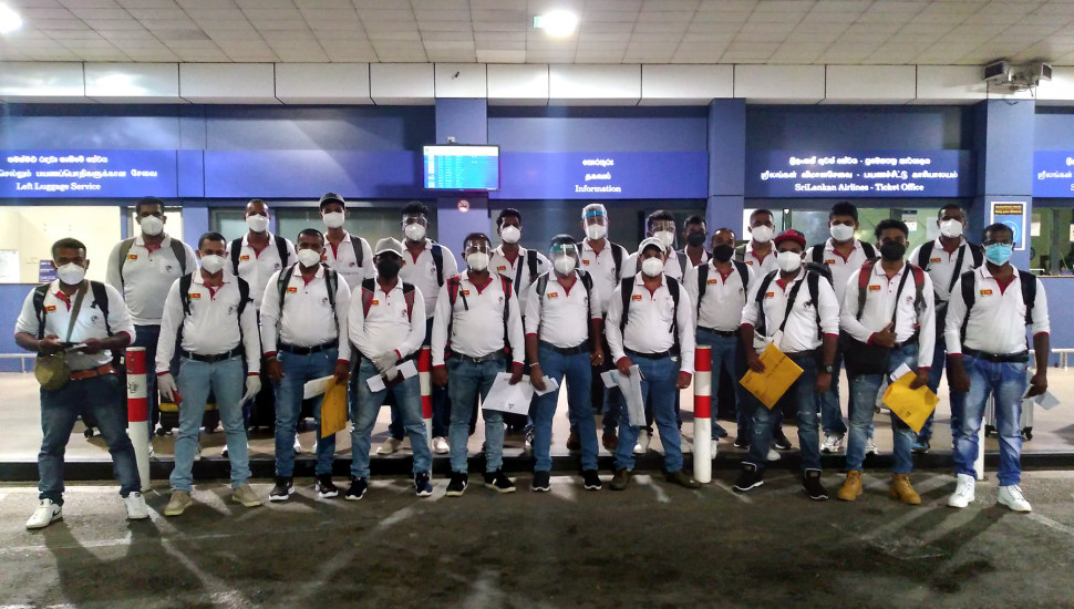 First team of domestic workers departs for Korea