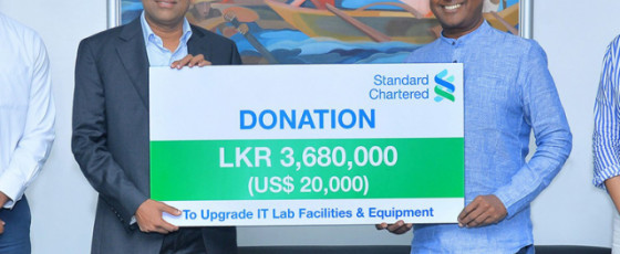Standard Chartered donates to Foundation of Goodness