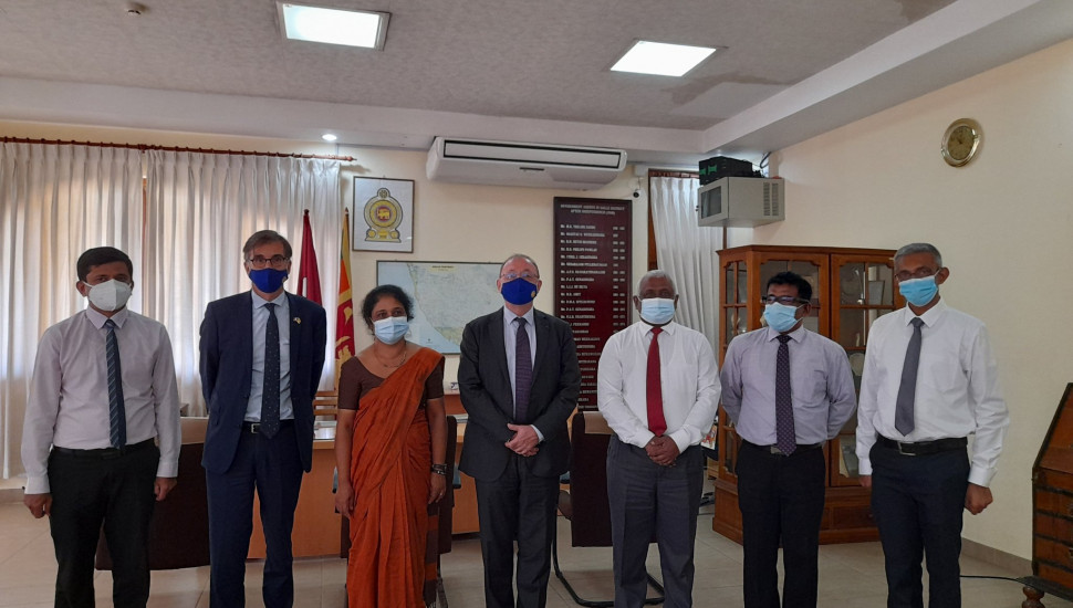 France to support development of Galle