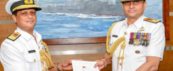 Rear Admiral Weerasinghe appointed the New Navy Chief of Staff