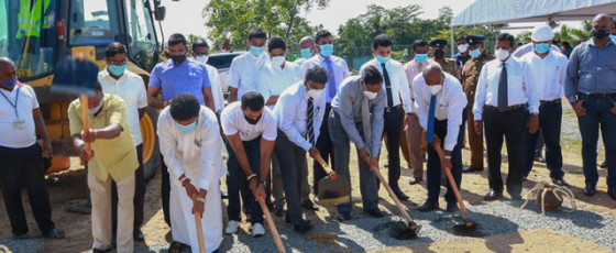 Construction work on 120 houses commences