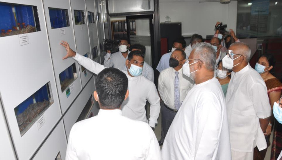 Ornamental Fish  Information Centre Opened
