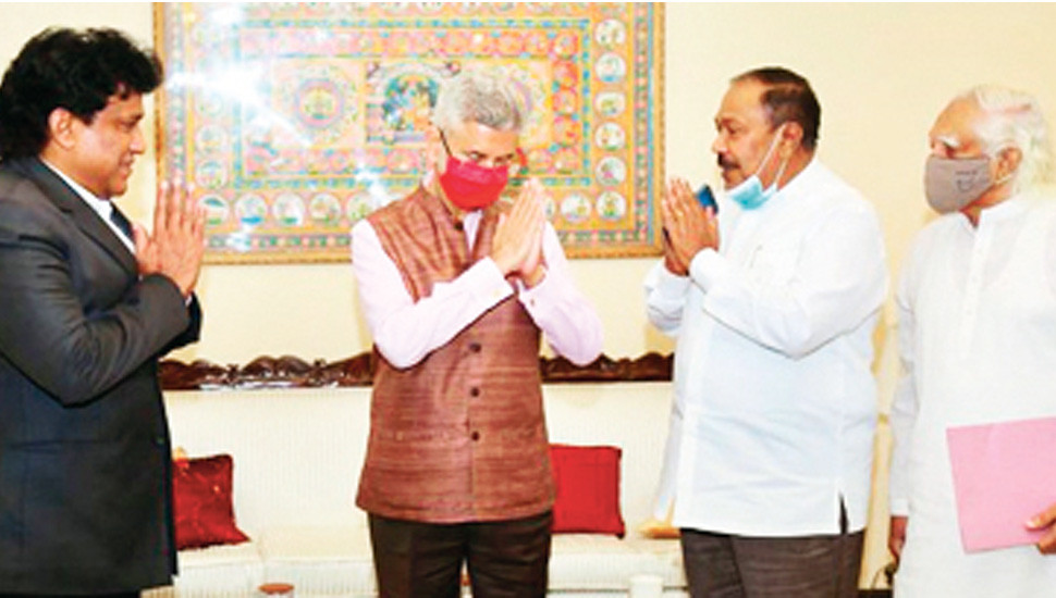 Tamil political leaders seek India's support