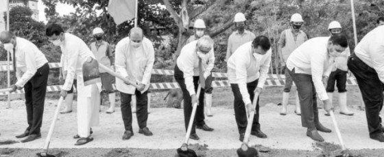 Foundation stone laid to construct 124 housing units