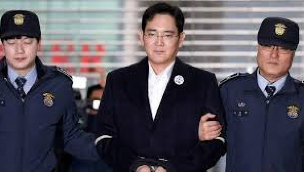 Samsung's heir receives two and a half year sentence