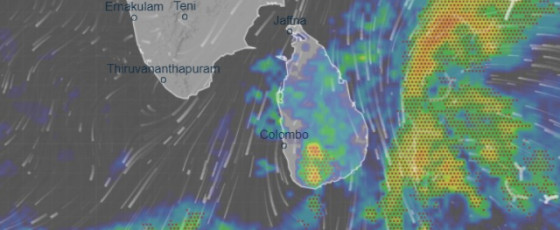 Heavy showers expected across the country