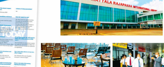 Govt Targets 3,300 Tourists Per Day at BIA and MIA