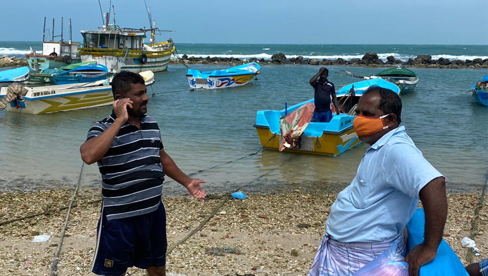 Indian fishers destroy nets of Northern fishers