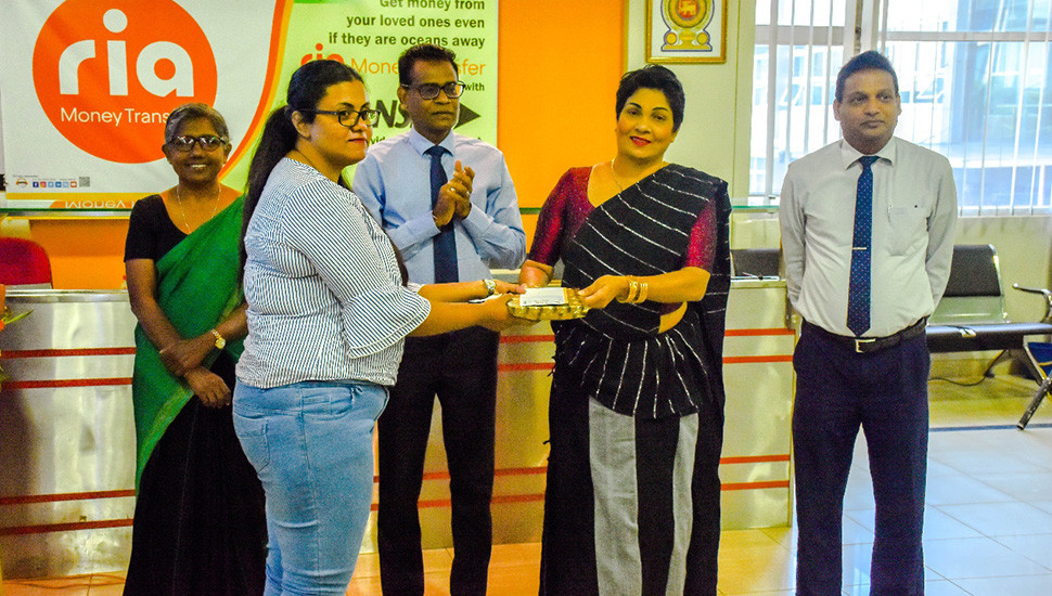 NSB joins hands with RIA Money Transfer